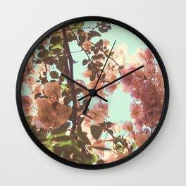 Sydney Summer Sky Wall Clock