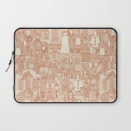vintage halloween rust ivory Laptop Sleeve