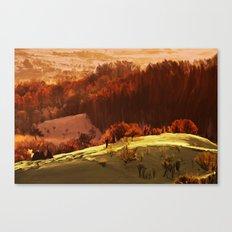 Rubrum Canvas Print