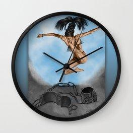 LIBERTE'! Wall Clock