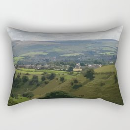 Rochdale Hilltop view Rectangular Pillow