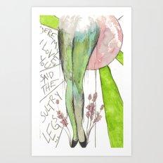 I love you gams Art Print