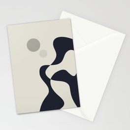Moons of Saturn Stationery Cards
