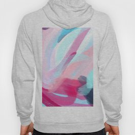 Pastel Abstract Brushstrokes Hoody