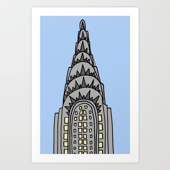 The Chrysler Building Would Look All Wrong in Nappa Art Print