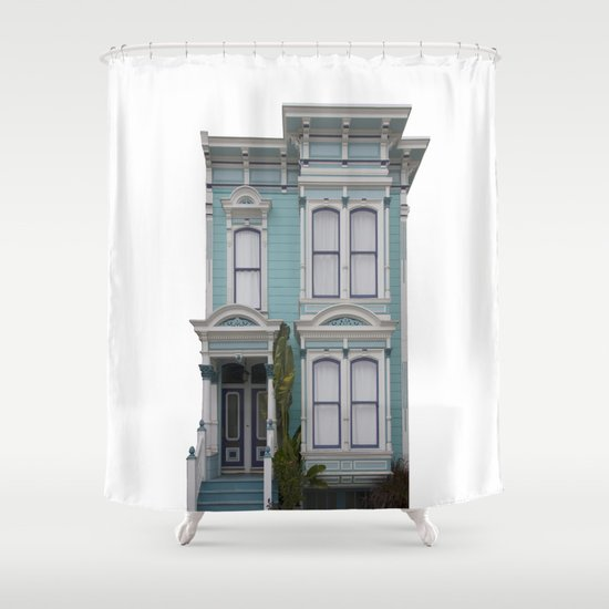 Green House San Francisco Shower Curtain