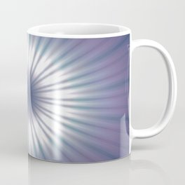 Sun Pole Starburst Mandala 3 Coffee Mug