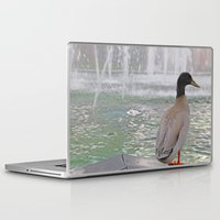 duck Laptop & iPad Skins featuring Duck by LemonThree