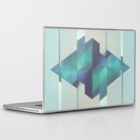 gem Laptop & iPad Skins featuring Gem Abstract by Alyn Spiller