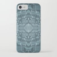 sci fi iPhone & iPod Cases featuring Future Sci Fi City by Phil Perkins
