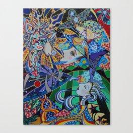 Reindeer Magic Canvas Print