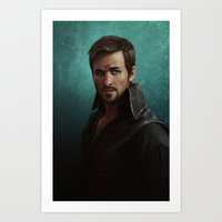 hook Art Prints featuring Hook by Ravenno