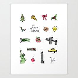 Sophia Card Art Print