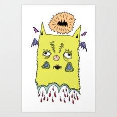 murciélago Art Print