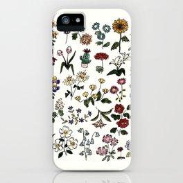 Flower Faces iPhone Case