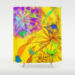 Sibirionetta formosa: digital artwork 4U Shower Curtain