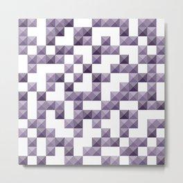 Studded Purple 1 Metal Print