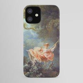 Jean-Honoré Fragonard - The Swing iPhone Case