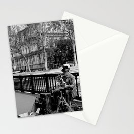 Street Musician Stationery Cards