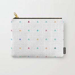 Small triangles Carry-All Pouch