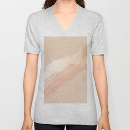 A Sandy Afternoon In Textures. Unisex V-Neck