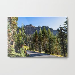 Lassen Volcanic National Park - road to beauty Metal Print
