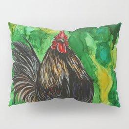 Serama Rooster - Chicken Art Pillow Sham