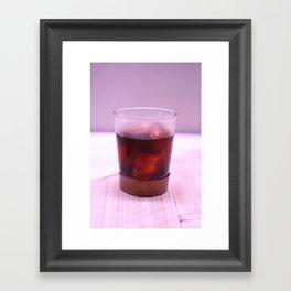 Cold Drip Coffee Framed Art Print