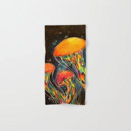 Rainbow Jellies Hand & Bath Towel