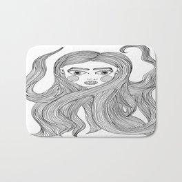 Lindsay's hair Bath Mat