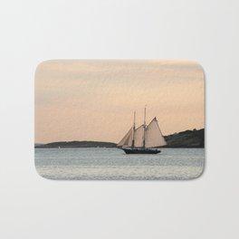 Sunset Sail Bath Mat