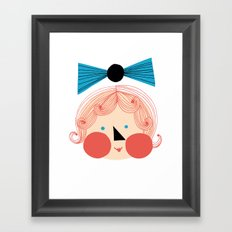 Rouva Framed Art Print