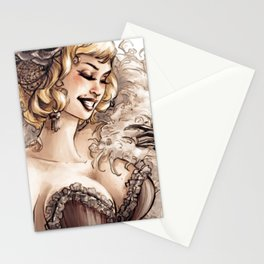 Burlesque Stationery Cards