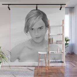 Emma Watson Wall Mural