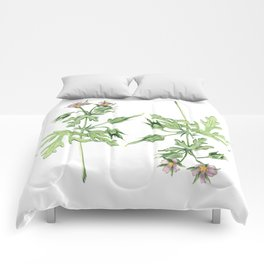Flowers For Dad Comforters