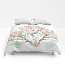 Protea #society6 #buyart Comforters