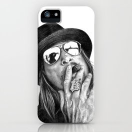 Kid Rockin' Up & Down Your Block iPhone Case