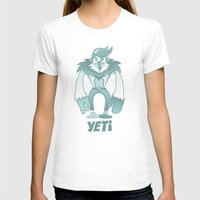yeti T-shirts featuring Yeti by gajuscd
