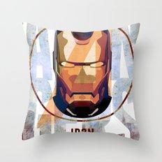 Avengers : IRON MAN print  Throw Pillow