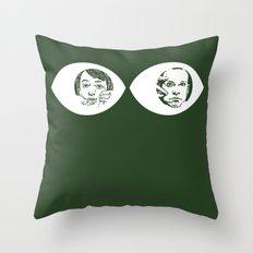 Peepers - Peep Show Throw Pillow