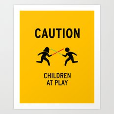 Children at Play Art Print