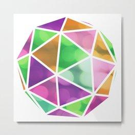 vivid dodecahedron Metal Print