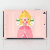 peach iPad Cases featuring Peach by Khatii