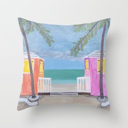 Turks & Caicos Throw Pillow