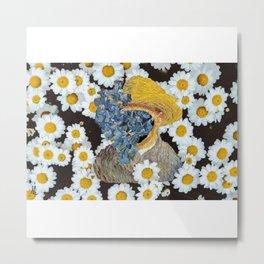 Van flowers Metal Print