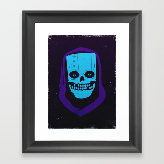 8-BIT MONSTER / CARTRIDGE GHOST Framed Art Print