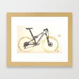 Coffee Wheels #03 Framed Art Print