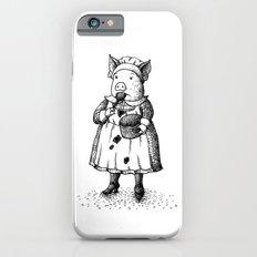 Pig - Girl iPhone 6s Slim Case