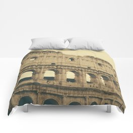 Brown Colosseum Comforters