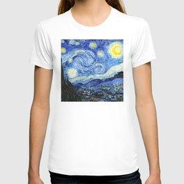 The Starry Night - Vincent van Gogh T-shirt